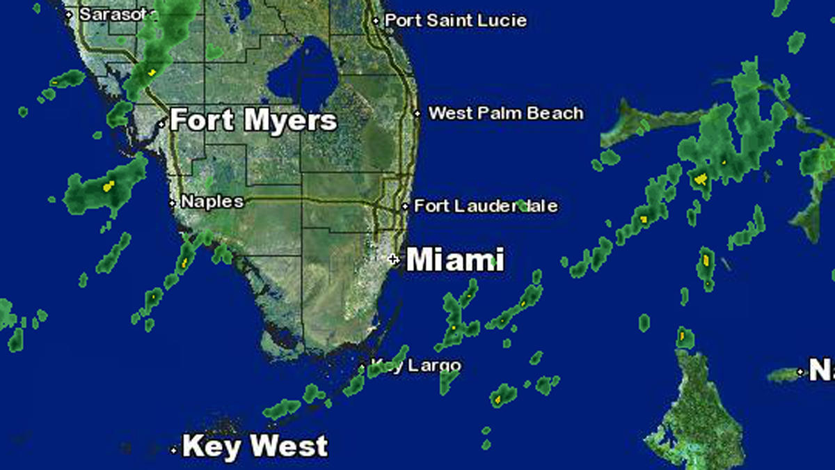 Weather Forecast: Cold Front Coming Wednesday - Nbc 6 South Florida - Florida Weather Map Today