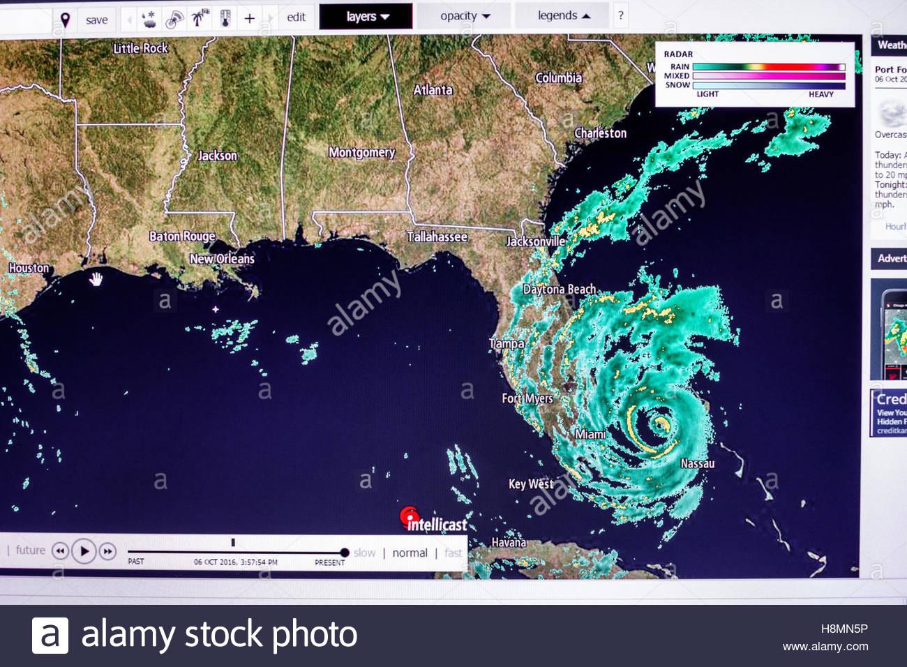 Weather Radar Map Photos & Weather Radar Map Images - Alamy - Florida Doppler Radar Map