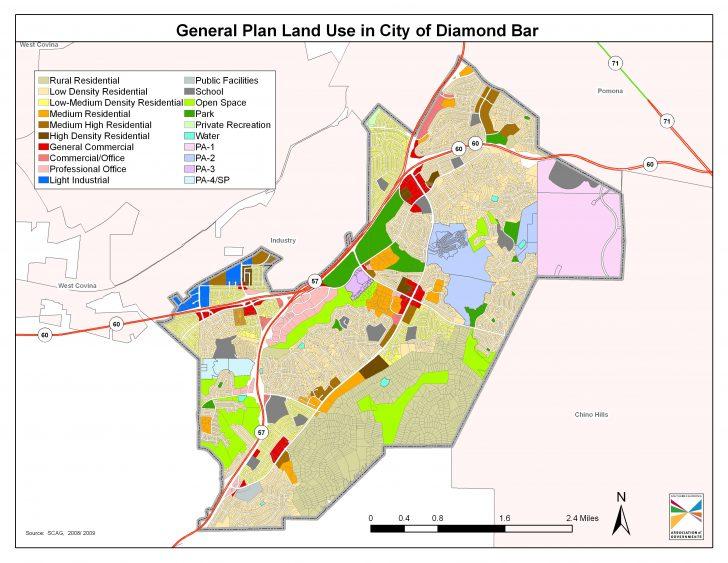 Diamond Bar California Map