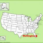 Wellington Location On The U.s. Map   Wellington Florida Map