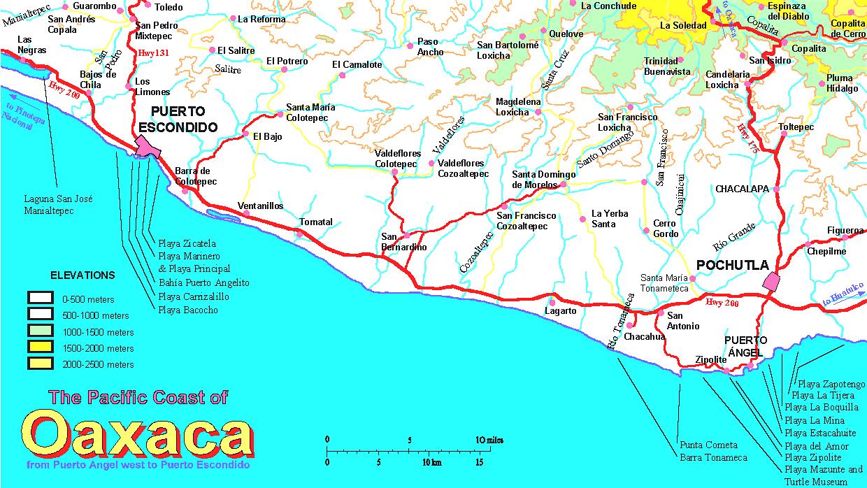 West Coast Of California Map - Klipy - Map Of California And Mexico Coast