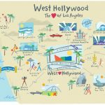 West Hollywood, Ca Guide To Hotels, Shopping, Restaurants, Things To   California Things To Do Map
