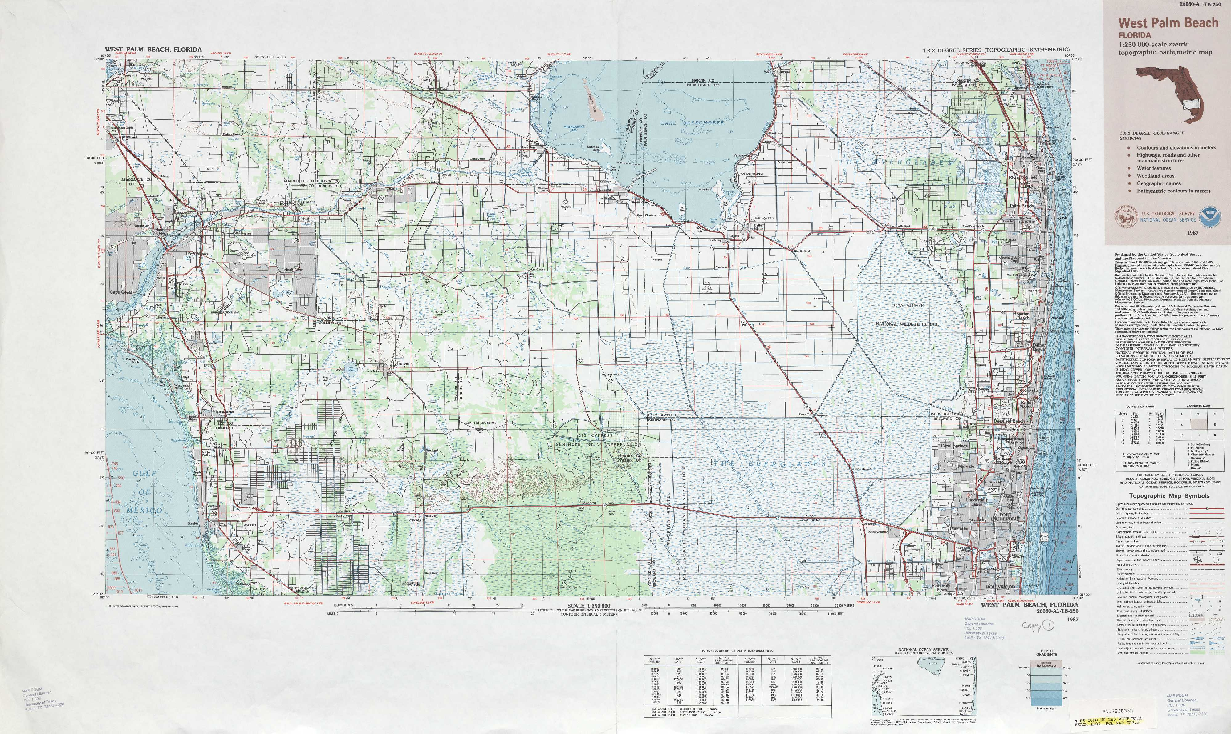West Palm Beach Topographic Maps, Fl - Usgs Topo Quad 26080A1 At 1 - Usgs Topographic Maps Florida