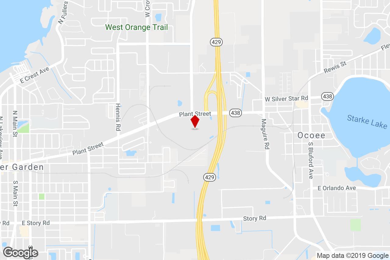 Western Beltway / Sr 429 And Plant St, Winter Garden, Fl, 34787 - Winter Garden Florida Map