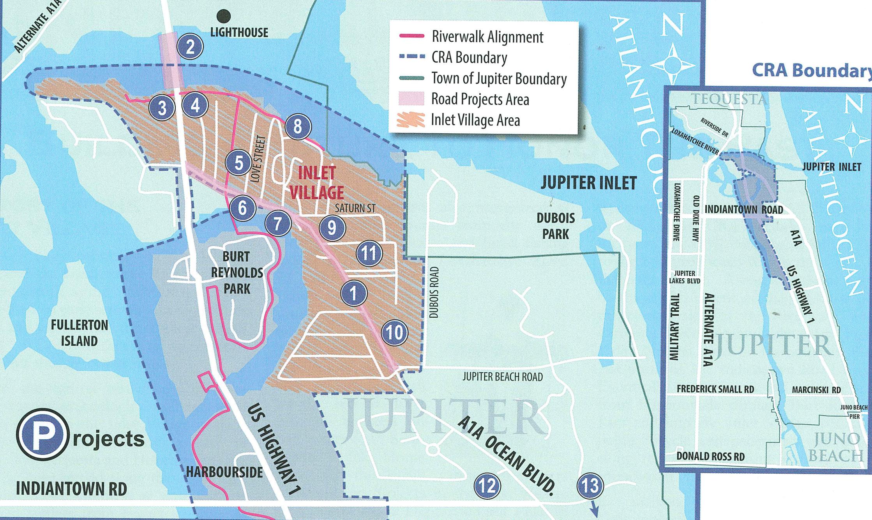 What Is Happening In Jupiter Inlet Village - Jupiter Inlet Florida Map