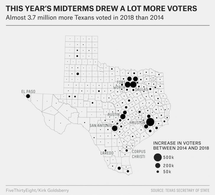 Beto For Texas Map