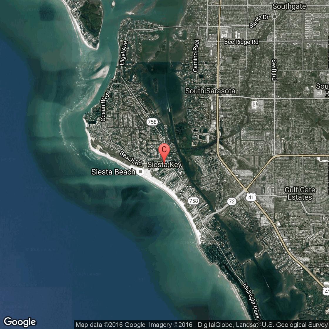 What To Do On The Island Of Siesta Key, Florida | Usa Today - Siesta Beach Sarasota Florida Map