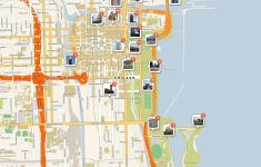 What To See In Chicago – Printable Map Of Downtown Madison Wi
