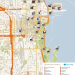 What To See In Chicago   Printable Street Map Of Downtown Chicago