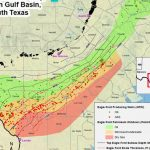 What's Wrong With The Eagle Ford Shale?   Texas Rig Count Map