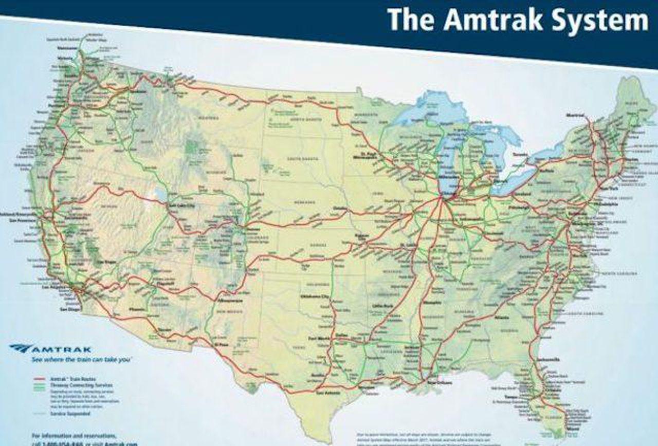 When And Where You Should Traveltrain Domestically - California Rail Pass Map