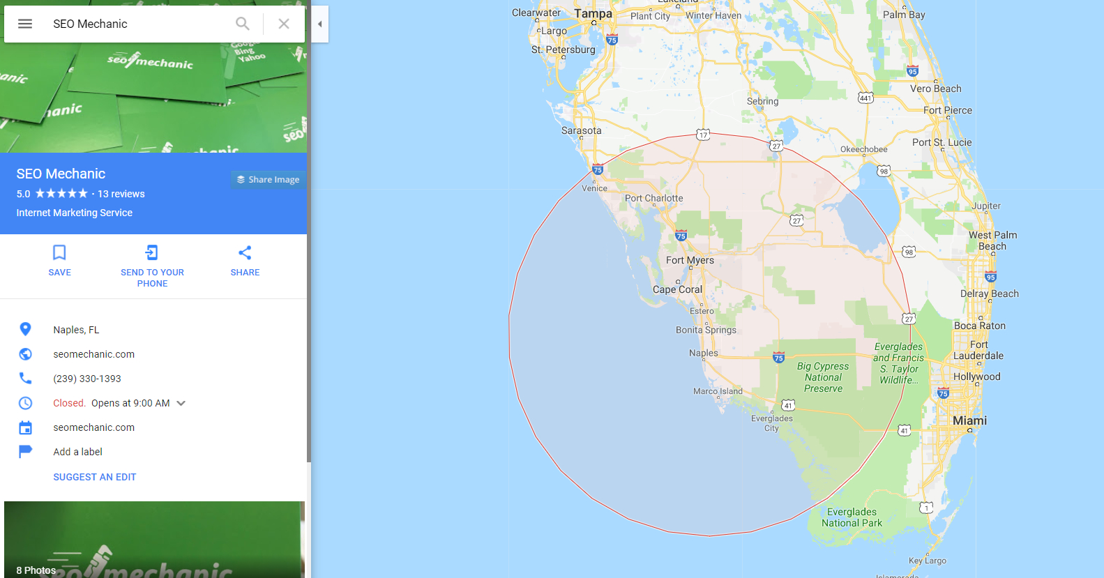 When Do Google Maps Update? • Seo Mechanic - Google Maps Naples Florida Usa