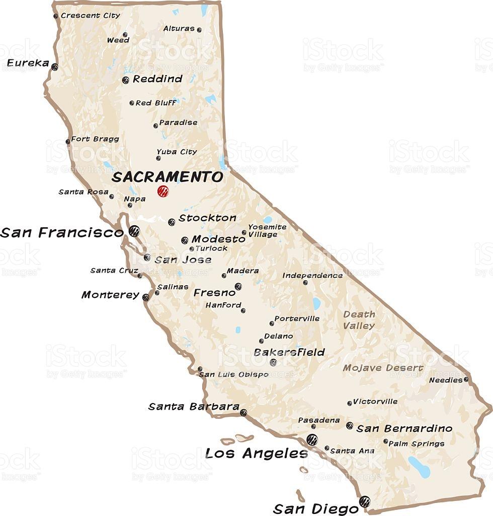 Where Is Fresno California On A Map - Klipy - Fresno California Map