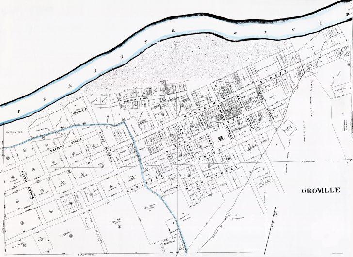 Oroville California Google Maps