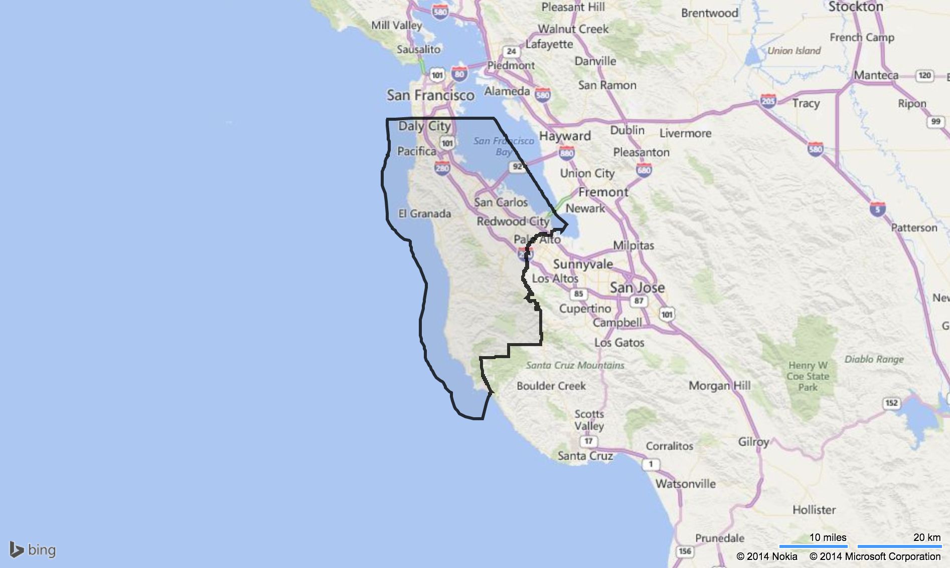 Where Is San Bruno California On The Map - Klipy - San Bruno California Map