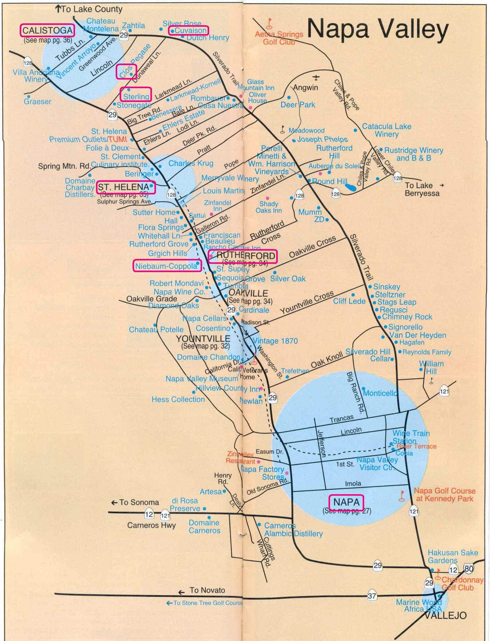 Where Is Sonoma California On The Map Detailed Printable Napa Wine - Sonoma Wineries Map Printable