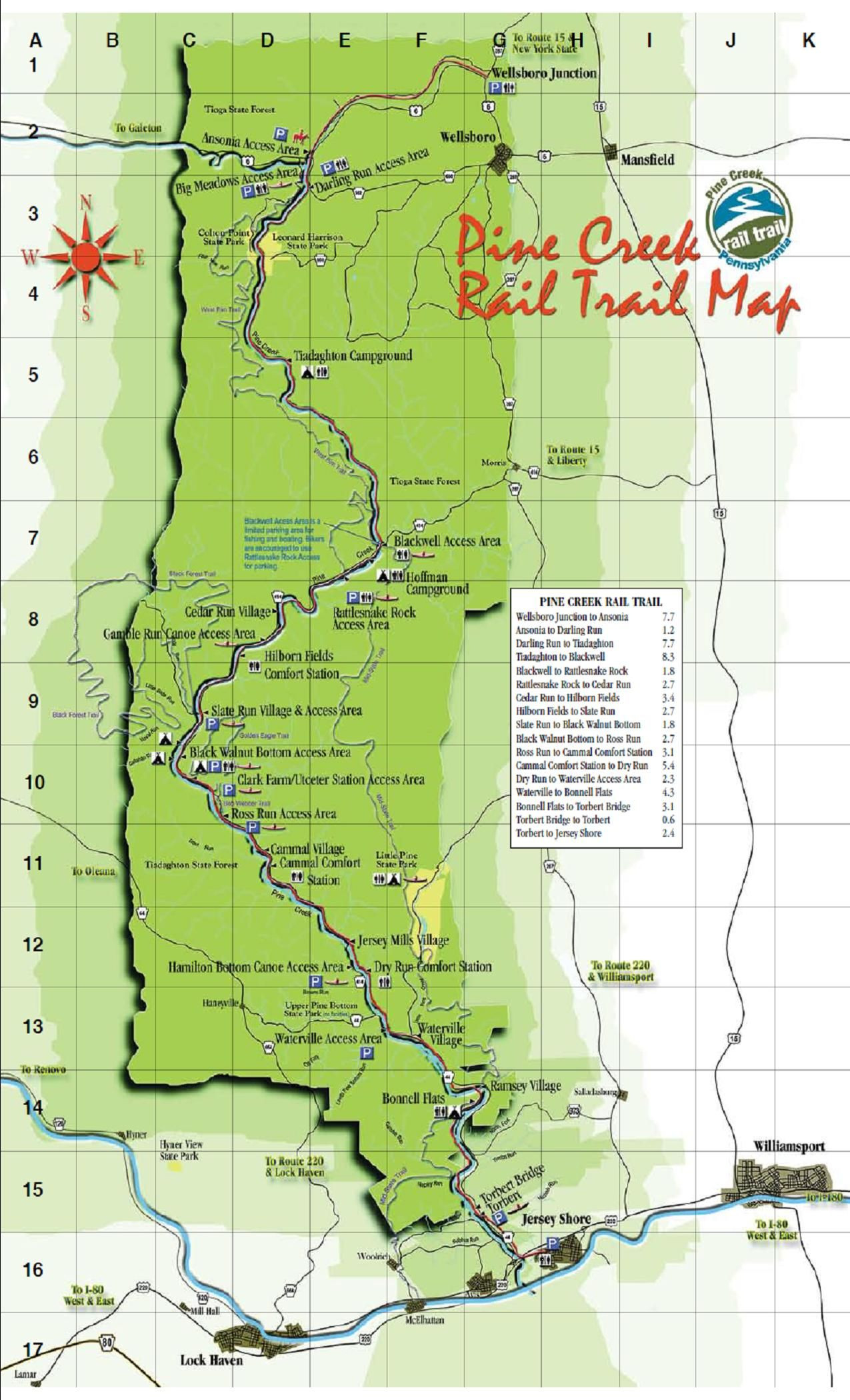 Where Is Vernon California On The Map Detailed Images Of Rail Trails - Vernon California Map