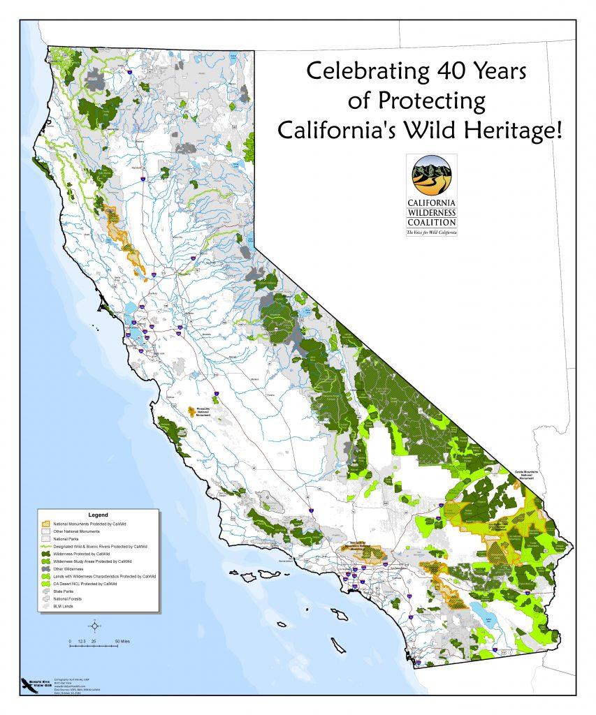 Wilderness Valid Maps California Wilderness Areas Map - Klipy - California Wilderness Map