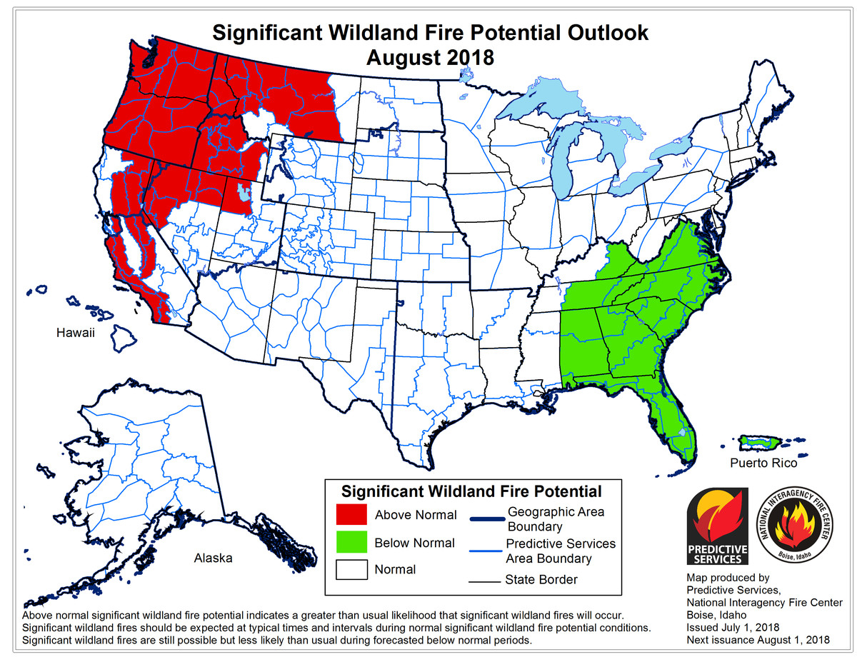 Wildfires 2018: Mendocino, Carr, And Ferguson Fires Are Raging In - Oregon California Fire Map