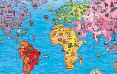 Win A World Map Jigsaw Puzzle | National Geographic Kids – National Geographic World Map Printable