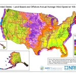Wind Maps | Geospatial Data Science | Nrel   Florida Wind Speed Map