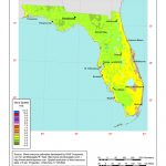 Windexchange: Florida 80 Meter Wind Resource Map   Florida Wind Speed Map