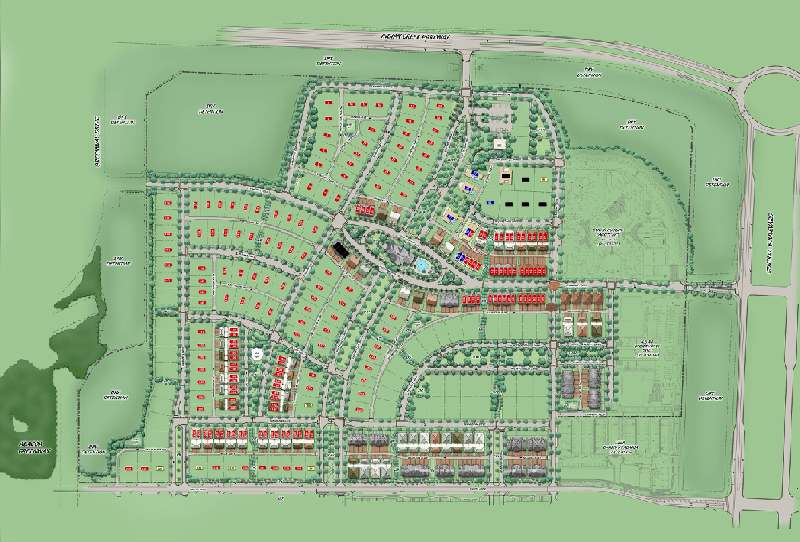 Windsor Park At Abacoa | New Home Construction In Se Florida - Abacoa Florida Map