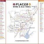 Wine & Ale Trails Of Placer County: Visit Northern California Wine   California Wine Trail Map