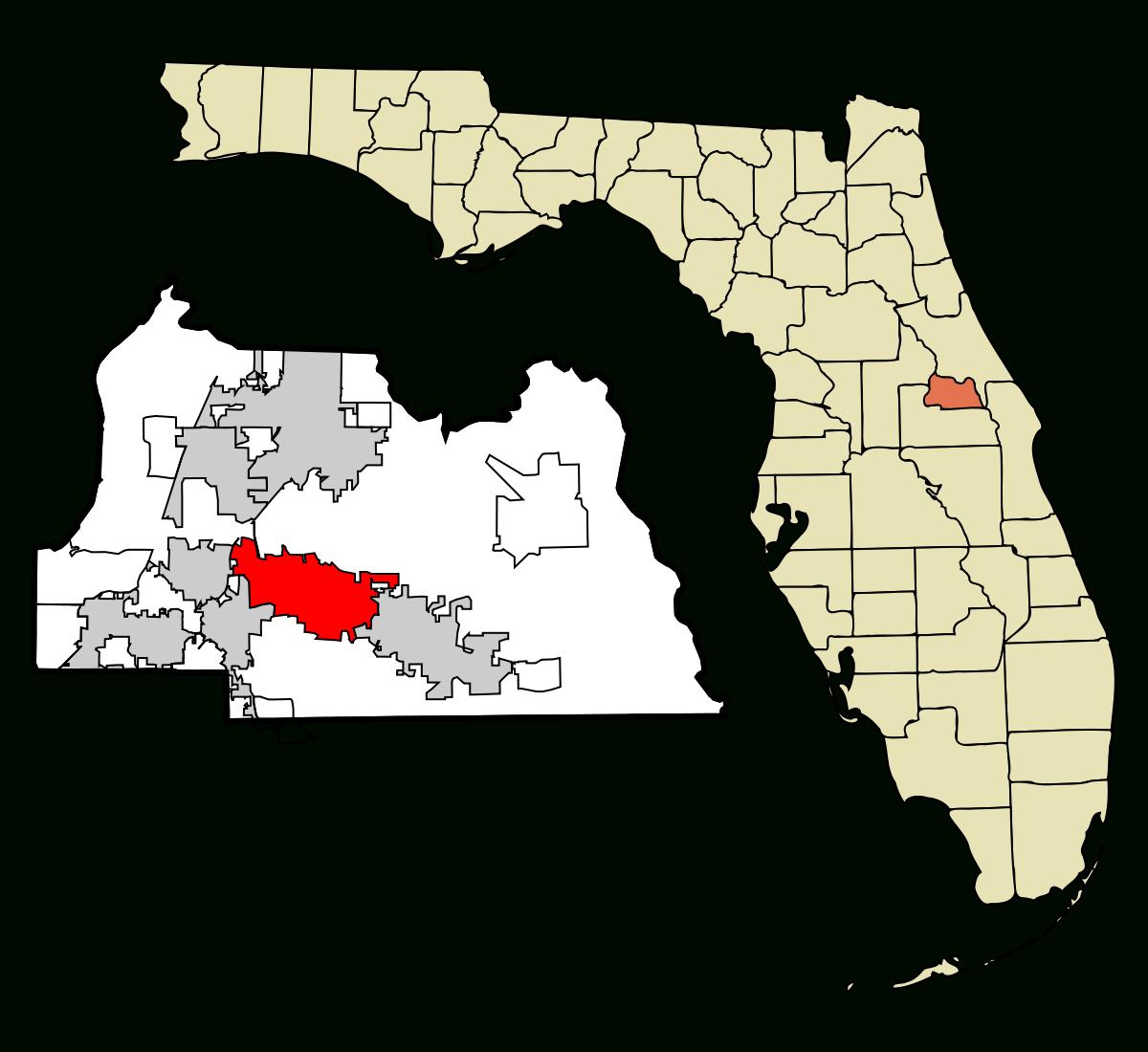 Winter Springs, Florida - Wikipedia - Indian Springs Florida Map