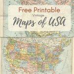 Wonderful Free Printable Vintage Maps To Download   Pillar Box Blue   Printable Antique Maps