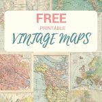 Wonderful Free Printable Vintage Maps To Download | Pinterest | Diy   Printable Antique Maps Free