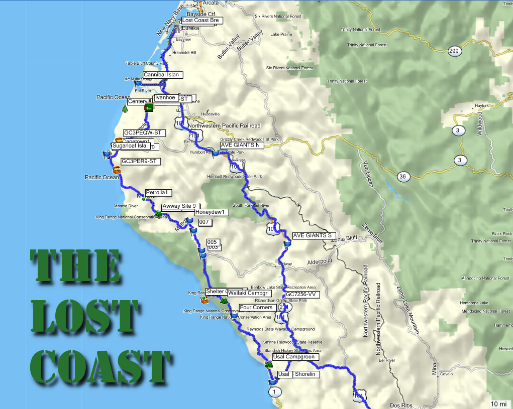 Wordpress Maps Of California California Coast Camping Map Picture - Camping Northern California Coast Map