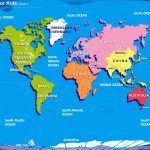 World Map For Kids Big Size W R Ibackgroundzcom | At Home Preschool   Children's Map Of The World Printable