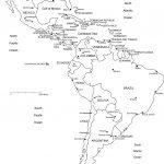 World Regional Printable, Blank Maps • Royalty Free, Jpg   Free Printable Map Of North America