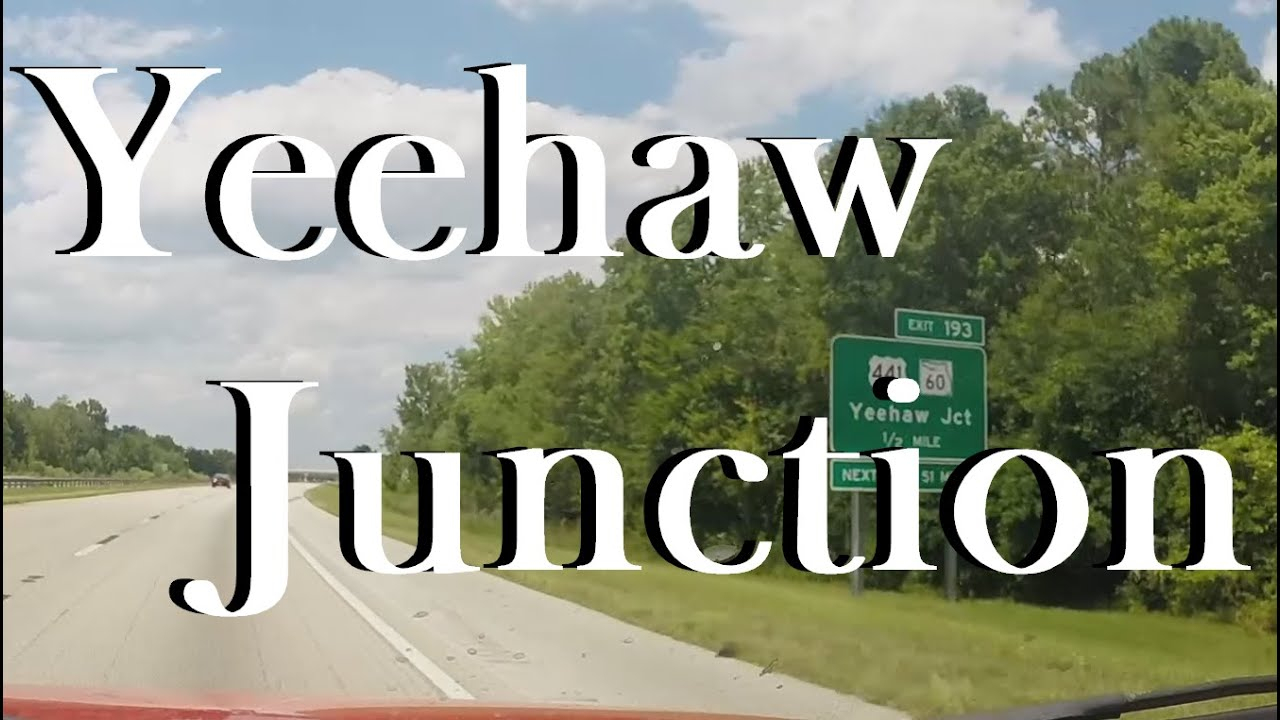 Yeehaw Junction, Fl - Youtube - Yeehaw Junction Florida Map