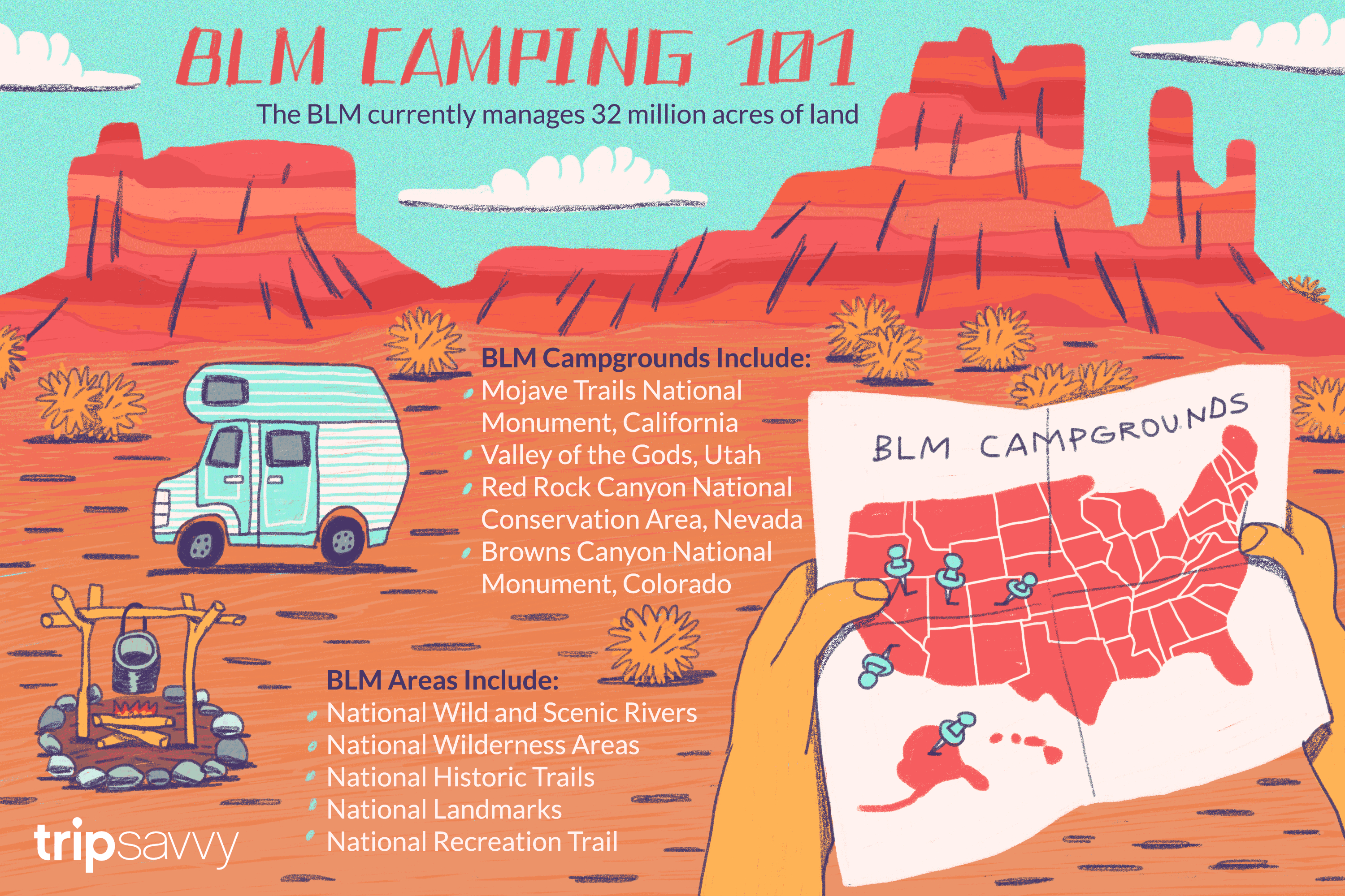 Your Guide To Blm Camping And Recreation - California Blm Camping Map