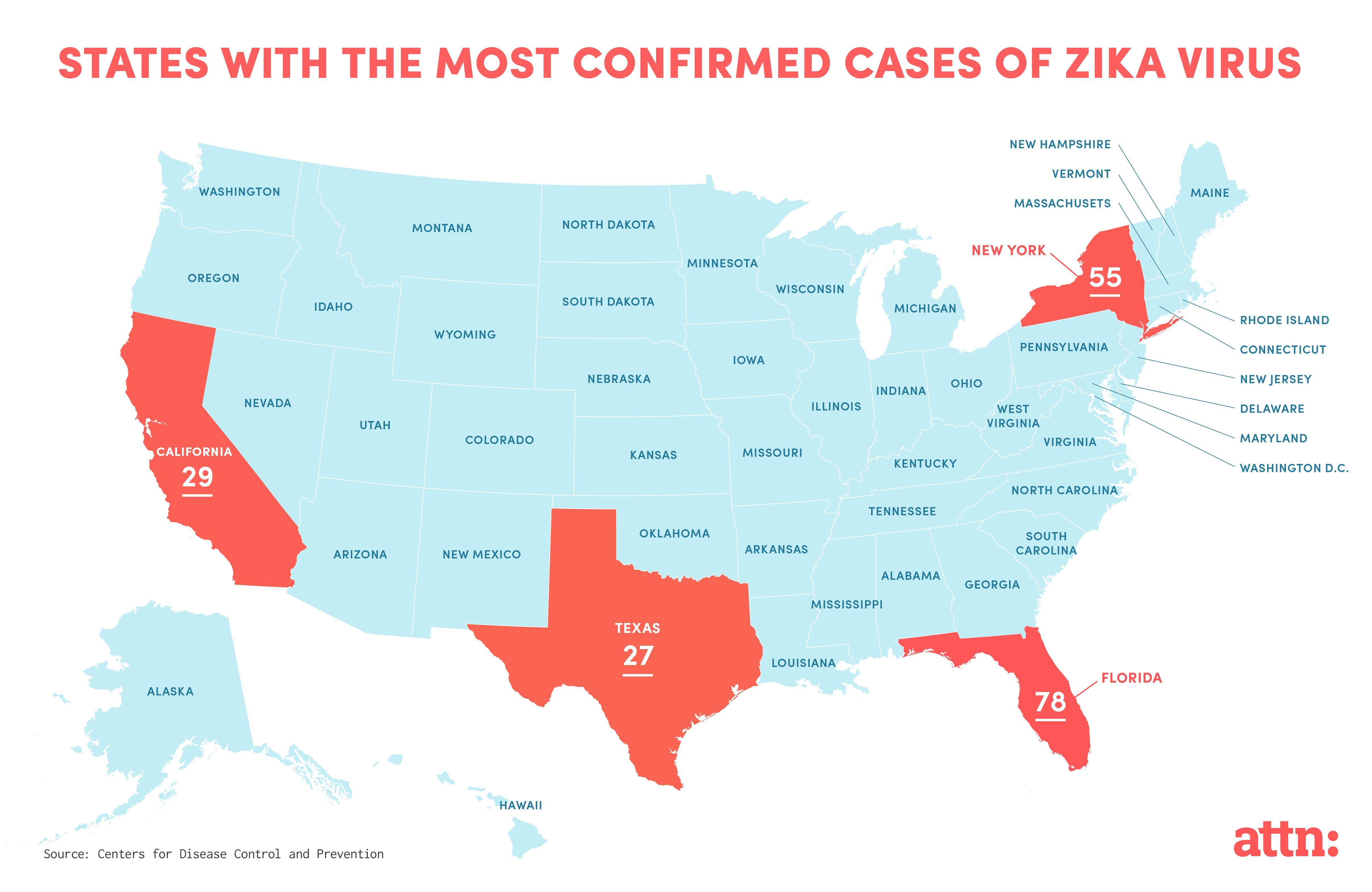 Zika Virus Florida Map Luxury Zika Virus Map Usa States | Map Of Canada - Zika Virus Florida Map