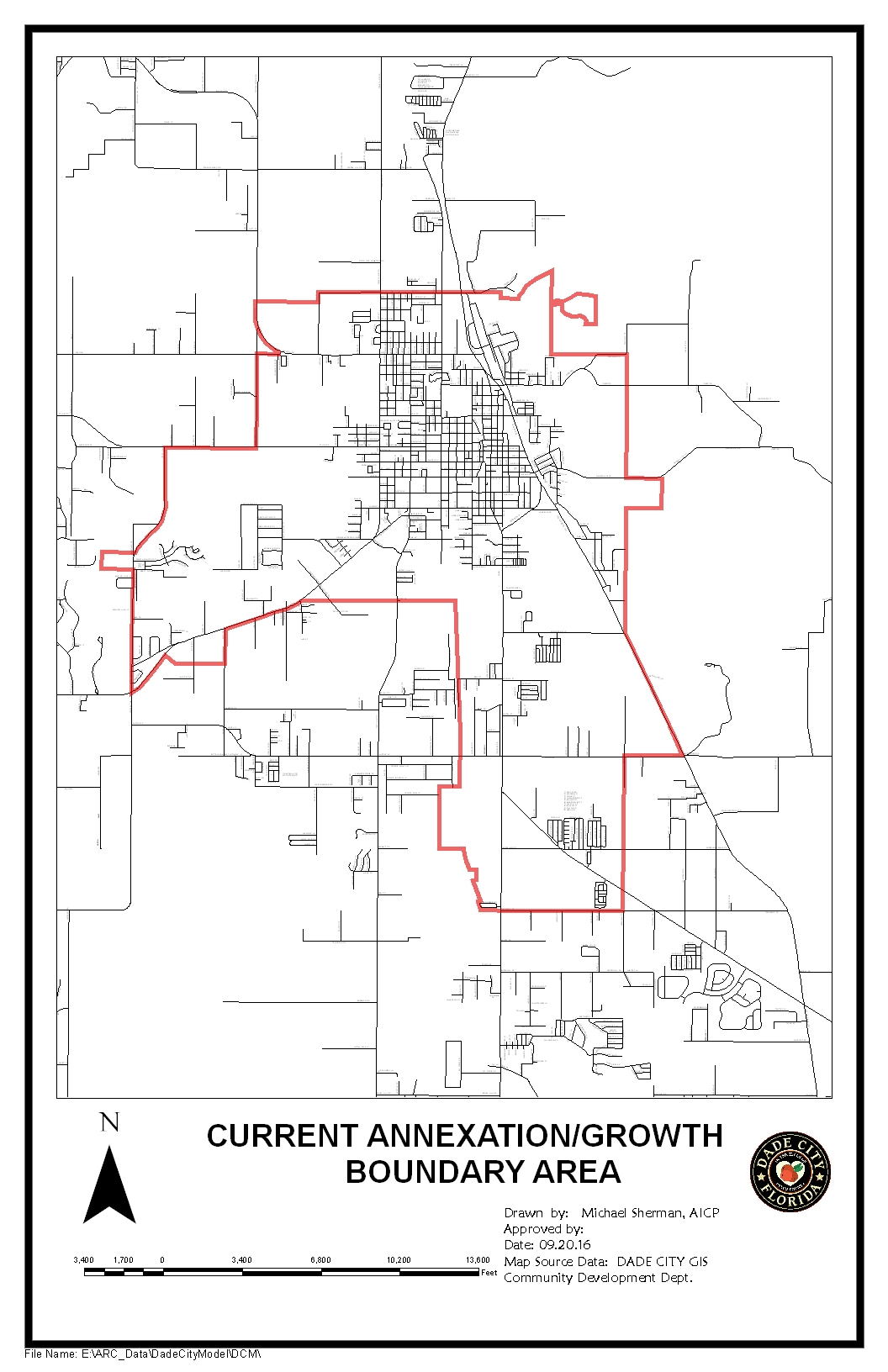 Zoning Mapannexation Current Annexation Map Proposed Annexation Map - Map Of Florida Showing Dade City