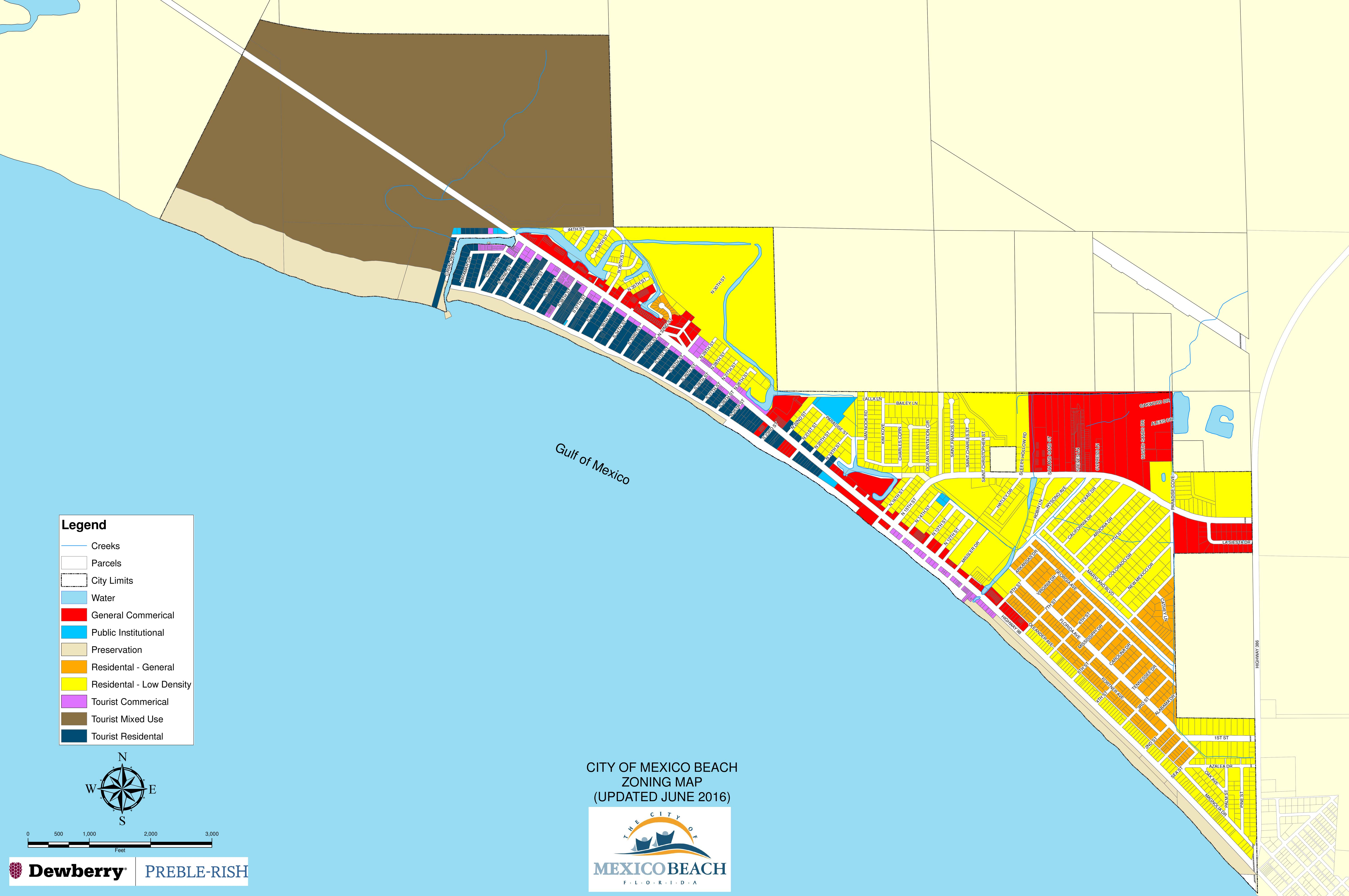 Zoning Maps | 98 Real Estate Group - Bay County Florida Parcel Maps